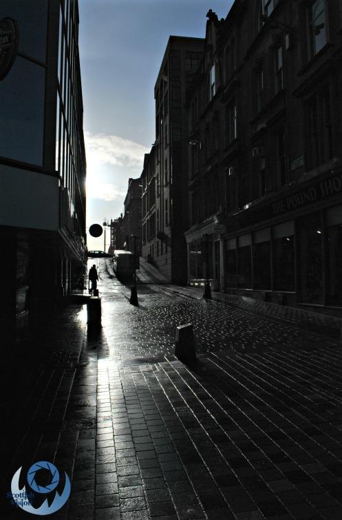 Glasgow Dark Streets