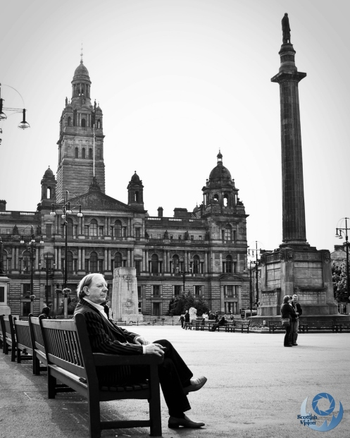 Chilling in George Square