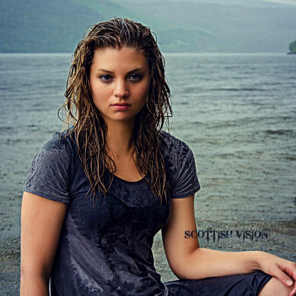 Christy on the Loch