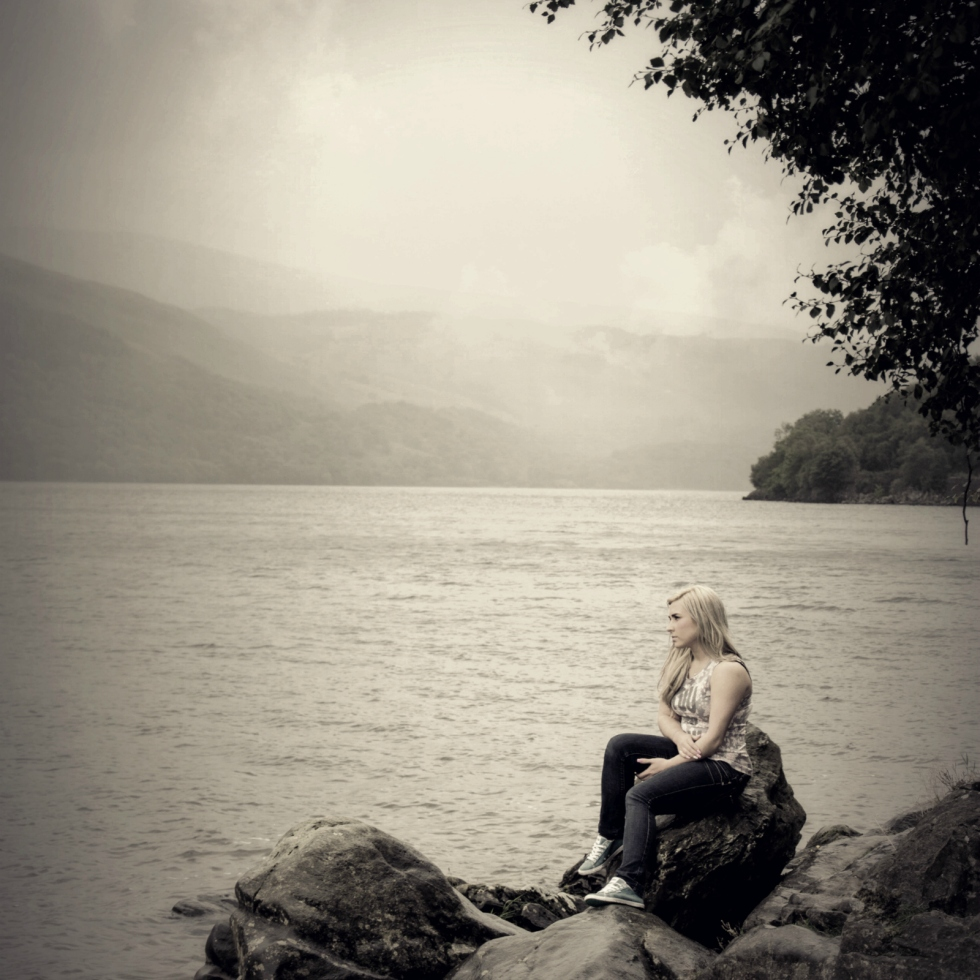 Rachael on the Rocks